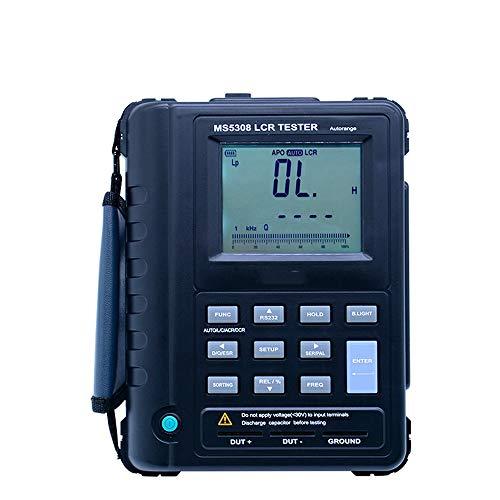 Best Bargain QWERTOUR LCR Tester Capacitance Resistance Tester Handheld Autorange rofessional Auto R...