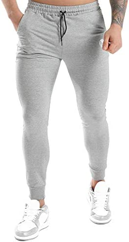 MICOZIFY Men s Workout Jogger Pants Stretch Gym Track Pants Slim Fit Tapered Sweatpants for product image