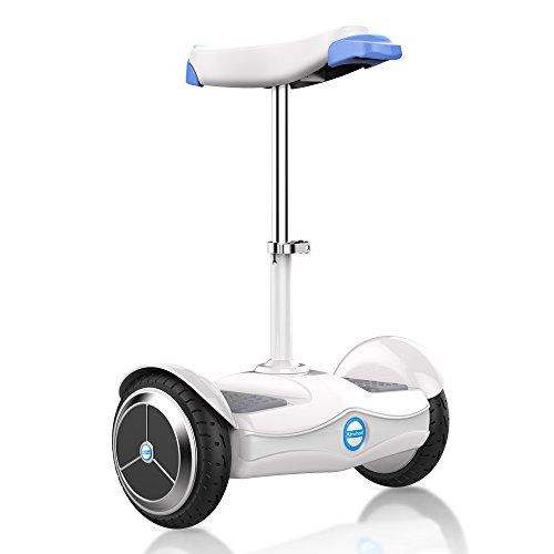 Airwheel S6, Hoverboard con Seduta Uomo, Bianco/Azzurro, 50.3 x 79 x...