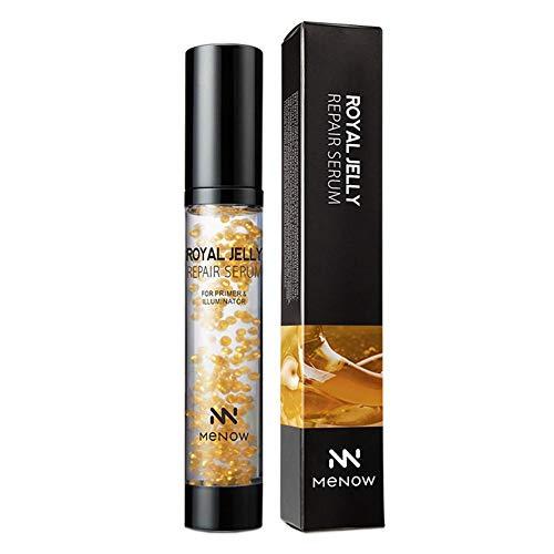 G-wukeer Pre-Maquillaje, Royal Jelly Repair Essence Gel Base de Maquillaje hidratante de Larga duración hidratante y Duradera a Base de Crema