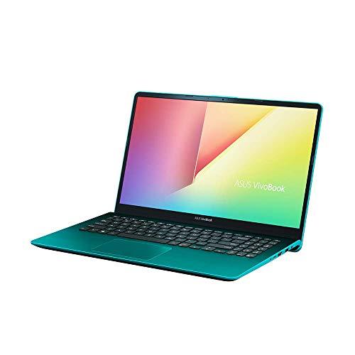 Asus VivoBook S15 S530UF 90NB0IB1-M00680 Notebook (39,6 cm, 15,6 Zoll Full HD Matt, Intel Core i5-8250U, 8GB RAM, 512GB SSD, 1TB HDD, NVIDIA MX130 2GB, Win 10 Home) firmament green