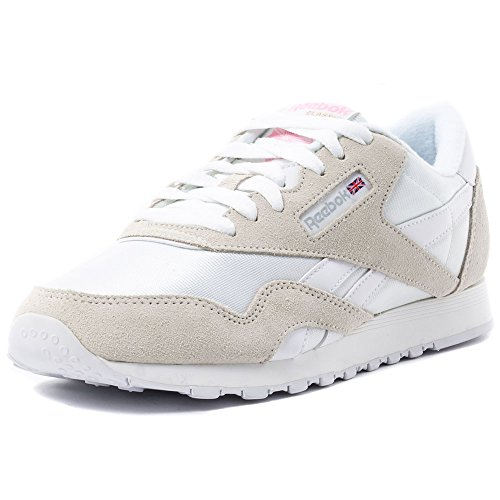 Reebok 6394, Zapatillas de Trail Running para Mujer, Blanco (Blanco (White / Light Grey), 40 EU
