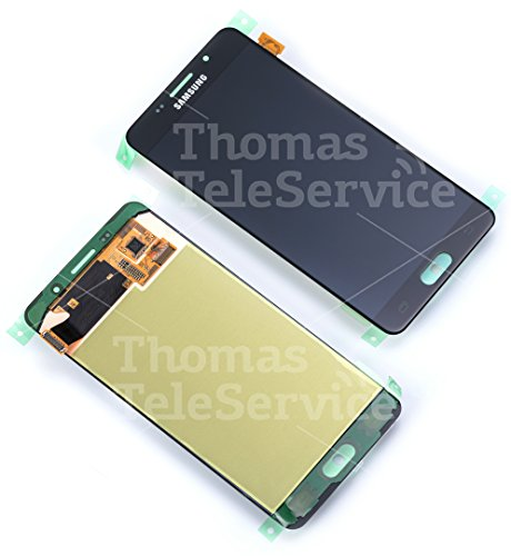 Original Samsung Galaxy A5 (2016) A510F A510 AMOLED LCD Display Touchscreen Digitizer Glas Service Ersatzteil Einheit Schwarz OCTA GH97-18250B