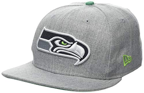 New Era Heathered Hype Snap Seasea HGR Cap, Grey, ML