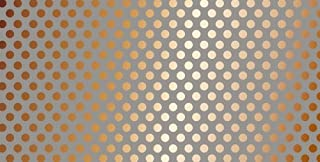 DCWVE DCWV Open Stock Paper 12 x 24-Single-Sided-Dots-Kraft and Copper Foil OS-004-00065