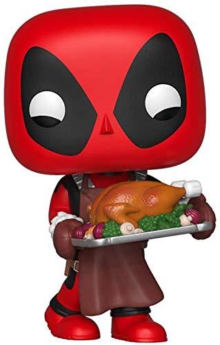 ¡Funko Pop! Marvel Vinyl Bobble: Vacaciones - Deadpool Multicolor