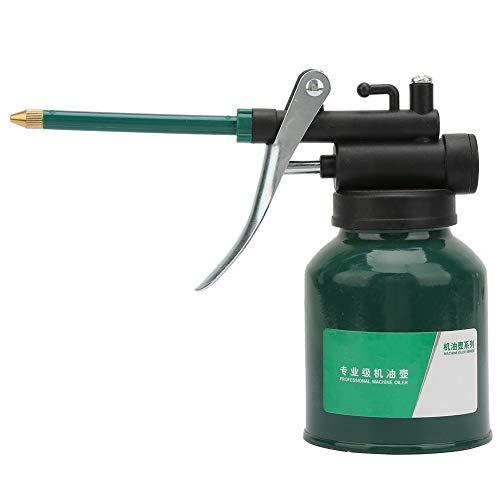 Engrasador de bomba de máquina de alta presión, bote de aceite de lubricación de pico largo de pistola de pulverización con 1 boquilla larga, herramienta de bote de aceite de bomba
