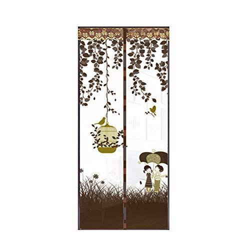 Haushalts-Anti-Moskito-Schlafzimmer-Türbildschirm Freisprech-Magnet-Moskitonetz Türnetz Anti-Fliegen-Moskitonetz Anti-Moskitonetz Anti-Moskito-Tür Magnetbildschirm A5 B80xH210
