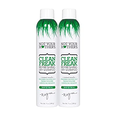 Not Your Mother's Clean Freak Refreshing Dry Shampoo Duo Pack 14 ounce