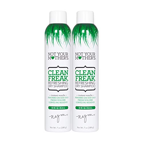 2 Pack of Not Your Mother's Clean Freak Refreshing Dry Shampoo Now $8.74 (Was $16.00)