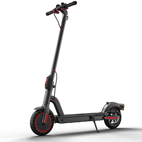 Adult Electric Scooter-Upgraded Battery with 350w Motor Electric Go Kart, Folding Kick Scooter