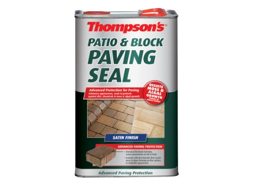 Ronseal PBPSS5L Patio & Block Paving Seal Satin 5 Litre