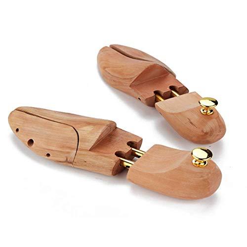 qazxsw Árbol de Zapatos de Madera, Forma Antiarrugas, absorción de Humedad y desodorización, Reduce la Fuerza de apriete del Zapato