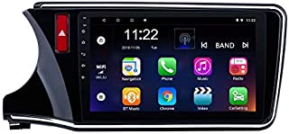 Car Head Unit 10.1 Inch Android 8.1 for Honda City 2014-2017 Radio GPS Navigation System with WiFi USB Bluetooth Mirror Link