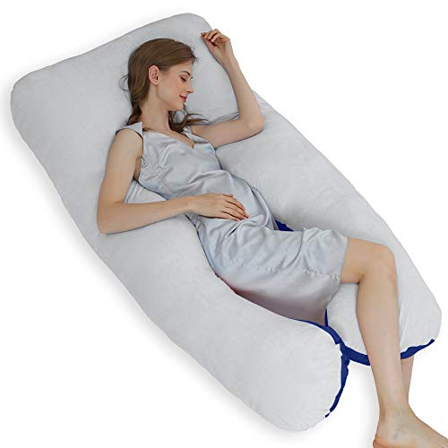 ThinLife Pregnancy Pillow, U-Shape Full Body Maternity...