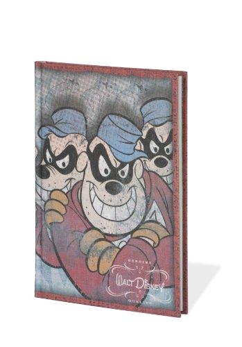 Buch A6 Walt Disney Panzerknacker +++ 96 Blatt Motiv-Papier (blanko) +++ stylisches SKETCH- und NOTIZBUCH +++ SEMIKOLON Qualität