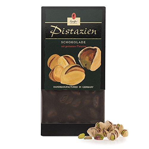 Leysieffer - Halbherbe Schokolade mit gerösteten Pistazien