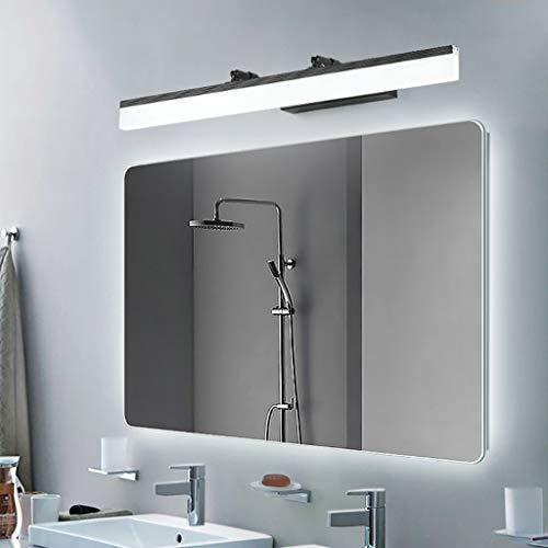 ZQH Moderne spiegel-voorlicht, LED badkamer wandlamp zwart smeedijzer make-up licht vanity-licht spiegel licht lamp badkamer spiegelkast lamp