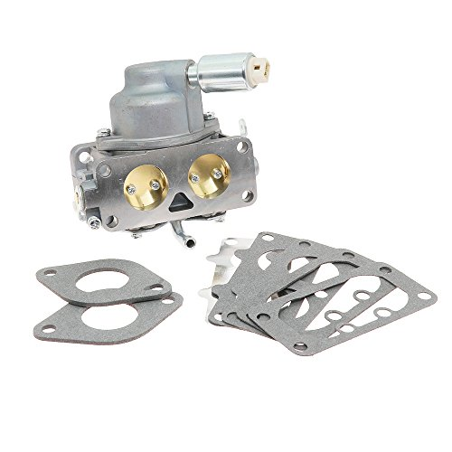 New 791230 Carburetor Carb Replacement with Mounting Gasket Kit for Briggs Stratton V-Twin 4 Cycle 20HP 21HP 23HP 24HP 25HP Vertical Engines Replace OE 799230 699709 499804 MIA10632