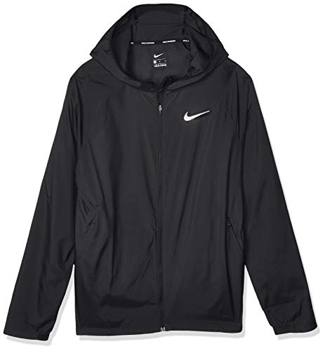 Nike M NK ESSNTL JKT Veste de sport Homme black/reflective silv FR : S (Taille Fabricant : S)