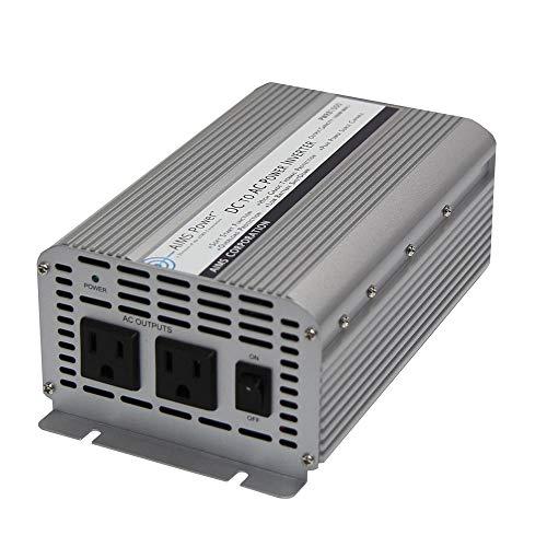 AIMS POWER 1000 Watt / 2000 Watt Peak DC to AC Power Inverter, Economical