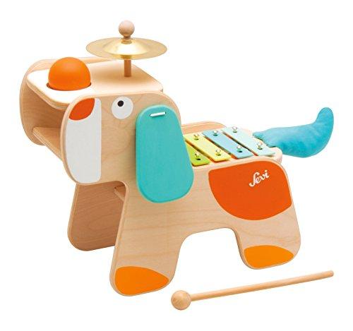 Trudi- Cane Strumenti Musicali, Multicolore, 82840