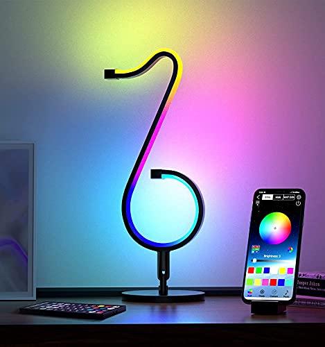 lasesasies Neon Segni con Base, Tik-Tok LED Rgb con APP Sincronizzazione Musicale Neon Decorative luci al neon USB Operato per Natale Festival Bar Caffè Compleanni Feste Decorazioni