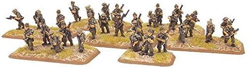 garantía de crédito British  Brigadier Young & Commando Platoon Platoon Platoon by Flames of War  últimos estilos