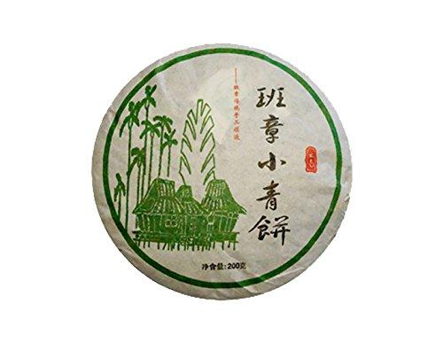 BAN ZHANG - kleiner Teekuchen, 200g - gepresster grüner Pu erh Tee - 2016 - SSN 200.022 - Abbey Tea Ltd
