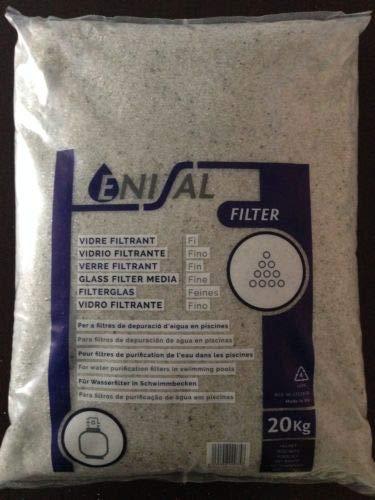 Enisal Verre filtrant fin 20 kg