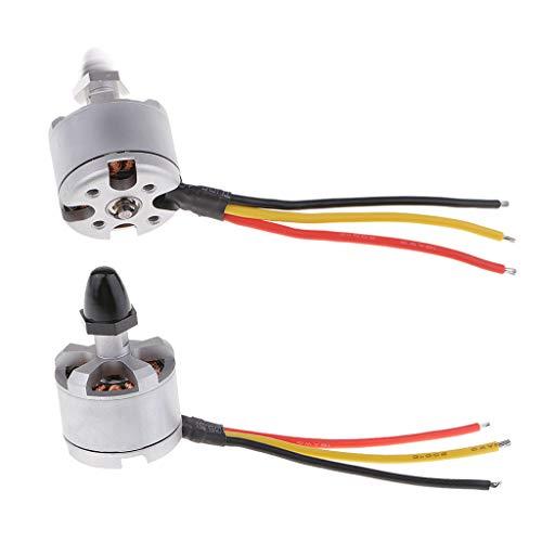 perfeclan 2 Piezas 2212 920KV CW CCW Piezas De Repuesto De Motor para dji Phantom 1 2 3 Drone Accs