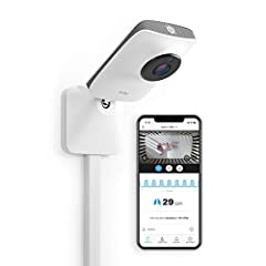 THE MOST ACCURATE BREATHING & SLEEP MONITOR EVER: Miku Smart Baby Monitor works with your smartphone to track breathing, movement, sleep patterns and nursery conditions. Note: Wi-Fi connectivity is subject to individual routers. HD VIDEO & SOUND: Sha...
