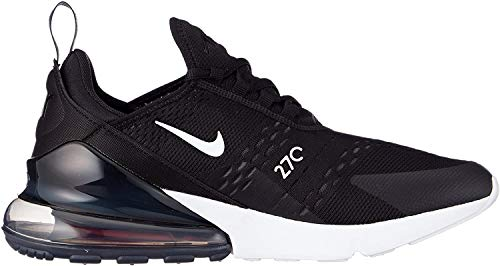 Nike Herren AIR MAX 270 Sneakers, Mehrfarbig (Black/Anthracite/White/Solar Red 002), 43 EU