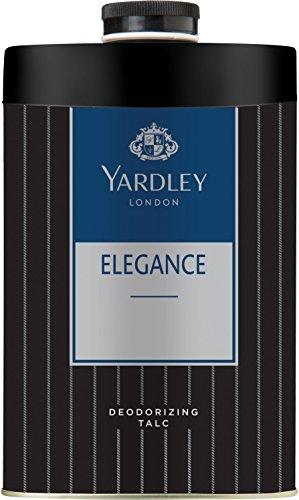 Yardley London ELEGANCE Deodorizing Talc Talcum Powder for Men 100gm