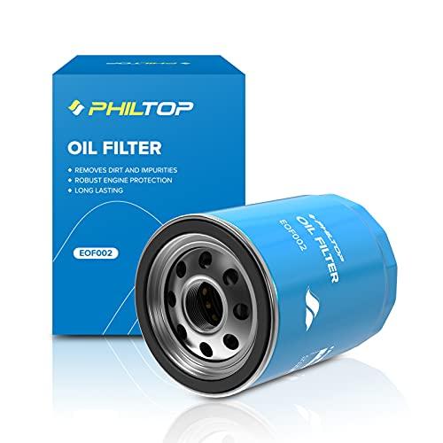 PHILTOP PH10575 Oil Filter, Replacement for F150 3.5L/5.0L, Silverado 1500 5.3L, Tahoe 5.3L, Impala 3.6L, Explorer 3.5L, Fusion 3.0L, Expedition, 10K Mile Change Interval Engine Oil Filter, Pack of 1