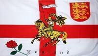 国旗 イギリス イングランド Rose Lion旗 90×150cm