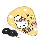 Juego de 6 púas de guitarra Hello Kitty con soporte para púas, regalo único para adultos, hombres y mujeres, para amantes de la música, adolescentes, púas de guitarra de 0,96 mm
