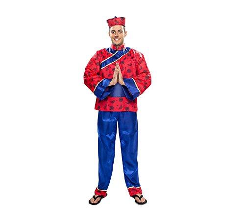 Disfraz de Chino talla XL para hombre