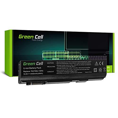 Green Cell PA3788U-1BRS Laptop Akku für Toshiba Tecra A11 M11 S11   Toshiba Satellite Pro S500 (6 Zellen 4400mAh 10.8V Schwarz)