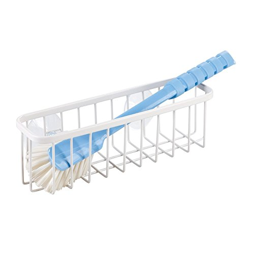 palillos Soporte para estante Esponja de cocina Cocina Drainer Rack Vajilla cesta para colgar con 2/ventosas para esponja cepillo estropajos