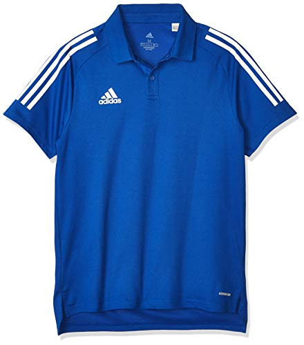 adidas Herren Polo Shirt CON20 Polo, Team royal Blue/White, 2XL, ED9237