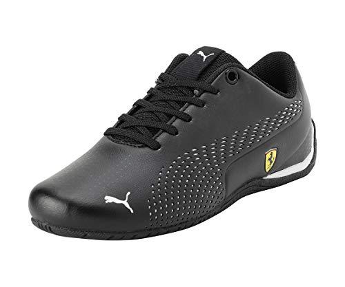 PUMA Ferrari Drift Cat 5 Ultra II Youth Sneaker Puma Black-Puma White UK 6_Youth_FR 39