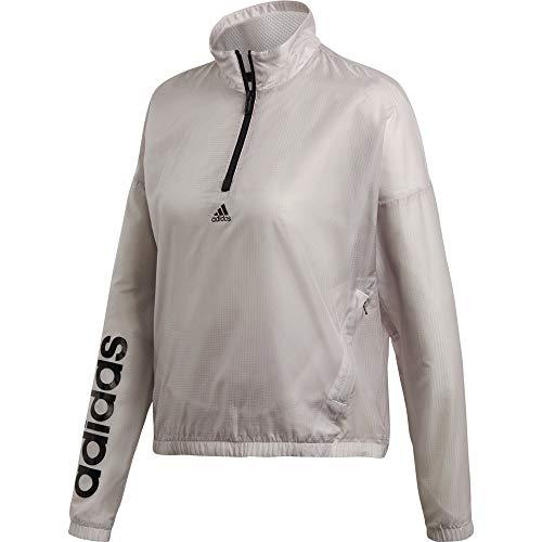 adidas Damen Linear Windbreaker Jacke, Chapea, 42