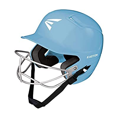 EASTON Alpha Batting Helmet | Baseball Softball | 2020 | Dual-Density Impact Absorption Foam | High Impact Resistant ABS Shell | Moisture Wicking BioDRI Liner | Removable Logo | Sizing for All Ages