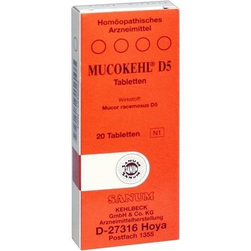MUCOKEHL D 5 20St Tabletten PZN:4548953