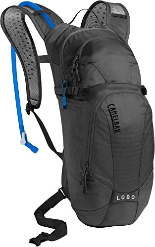 CamelBak Lobo Bike Hydration Pack - Helmet Carry - Magnetic Tube Trap - 100 oz, Black