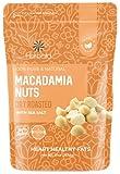 Macadamia Nuts Salted, 10 oz. Dry Roasted Macadamia Nuts with Sea...
