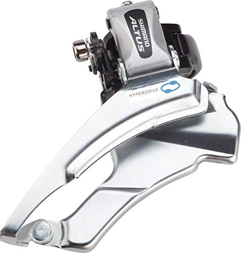 SHIMANO FD-M313, Down Swing,Dual-Pull for Rear 7/8-SPD, Band Type 34.9M(W/31.8 & 28.6MM Adapter) for 42/48T, CS-Angle:66-69