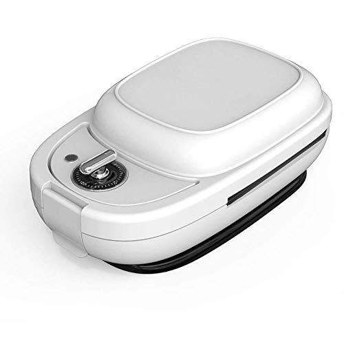 WSJTT toastie Maker Máquinas de Hacer omletas eléctricas, tostadora de sándwiches, Plancha y Parrilla Panini 6 en 1 con Temporizador y Controlador de Temperatura, Acero Inoxidable