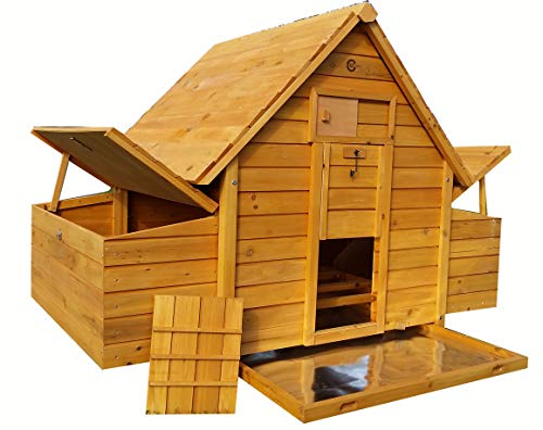 COCOON CHICKEN COOP HEN HOUSE POULTRY ARK NEST BOX NEW - LARGER MODEL...
